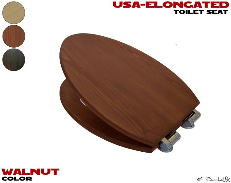 d shaped wooden toilet seat. USA  Elongated Wooden Toilet Seat 3 Colors To Choose Wooden Soft Close Slow Rustic For Your Bathroom 28 Best Images On Pinterest Toilet Seats