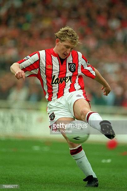 1993 FACup SemiFinal at Wembley Kevin Gage Sheffield United