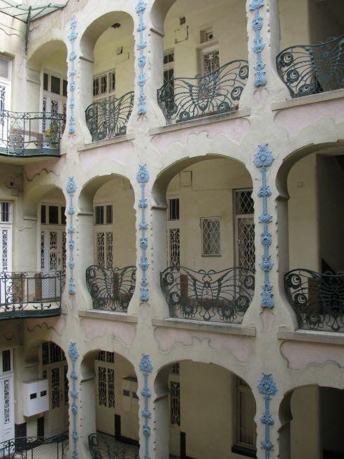 Art Nouveau, Szecesszio, 46 Thokoly St. , Budapest, Hungary