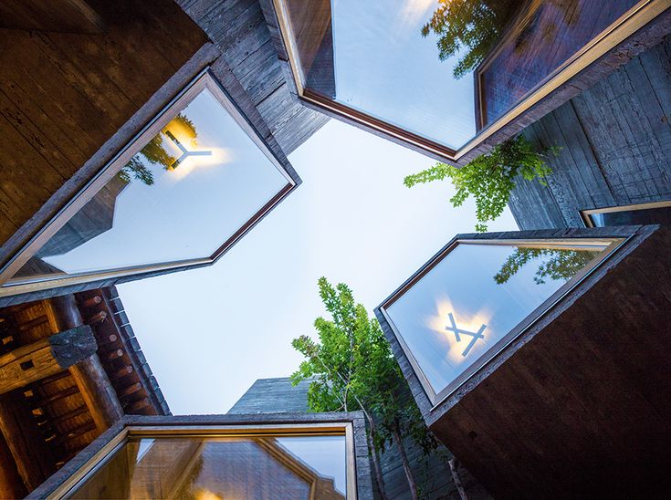 ZAO / standardarchitecture has completed a hostel inside a renovated beijing hutong that measures just 30 square meters.