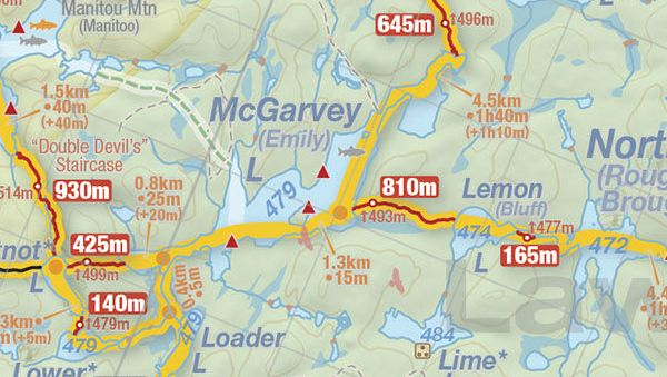 McGarvey Lake, Jeff's Map