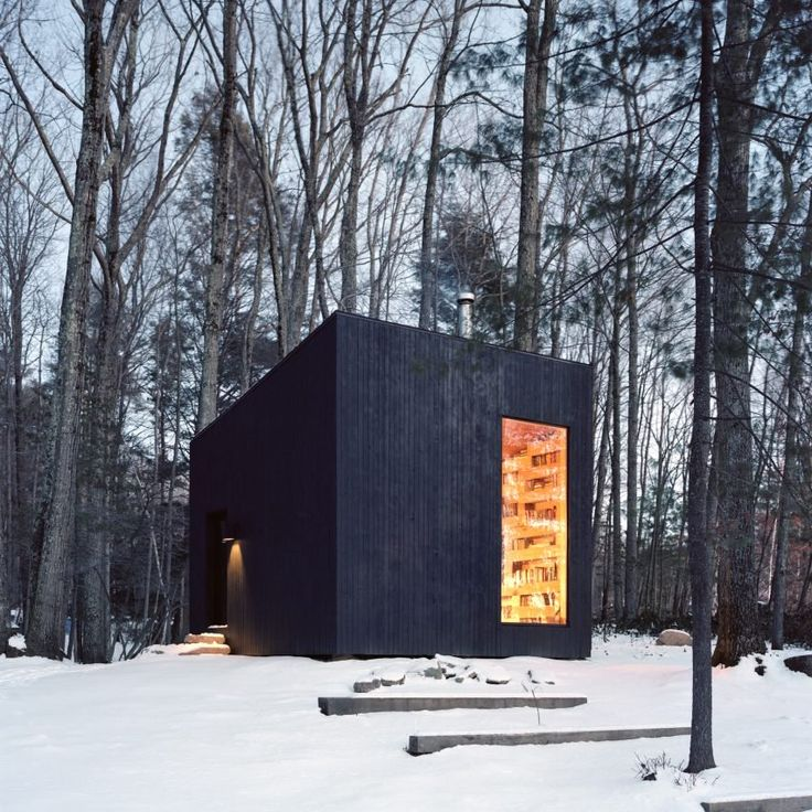 Charred timber was a popular choice for architects in 2016