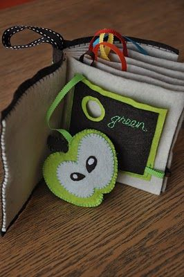 PEEKY Pocket Book See also the cute owl felt toys on this page.
