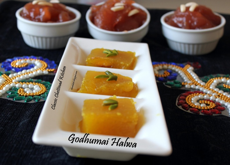 Easy, Traditional and Delicious Wheat / Godhumai Halwa.  http://elvisalakshi.blogspot.com/2013/01/godhumai-halwa-wheat-halwa.html