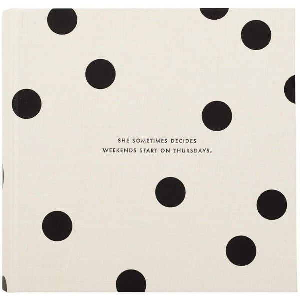 kate spade new york Large Photo Album ($36) ❤ liked on Polyvore featuring home, home decor, frames, 4x6 picture frames, 4x6 photo albums, kate spade picture frames, kate spade home decor and kate spade frames