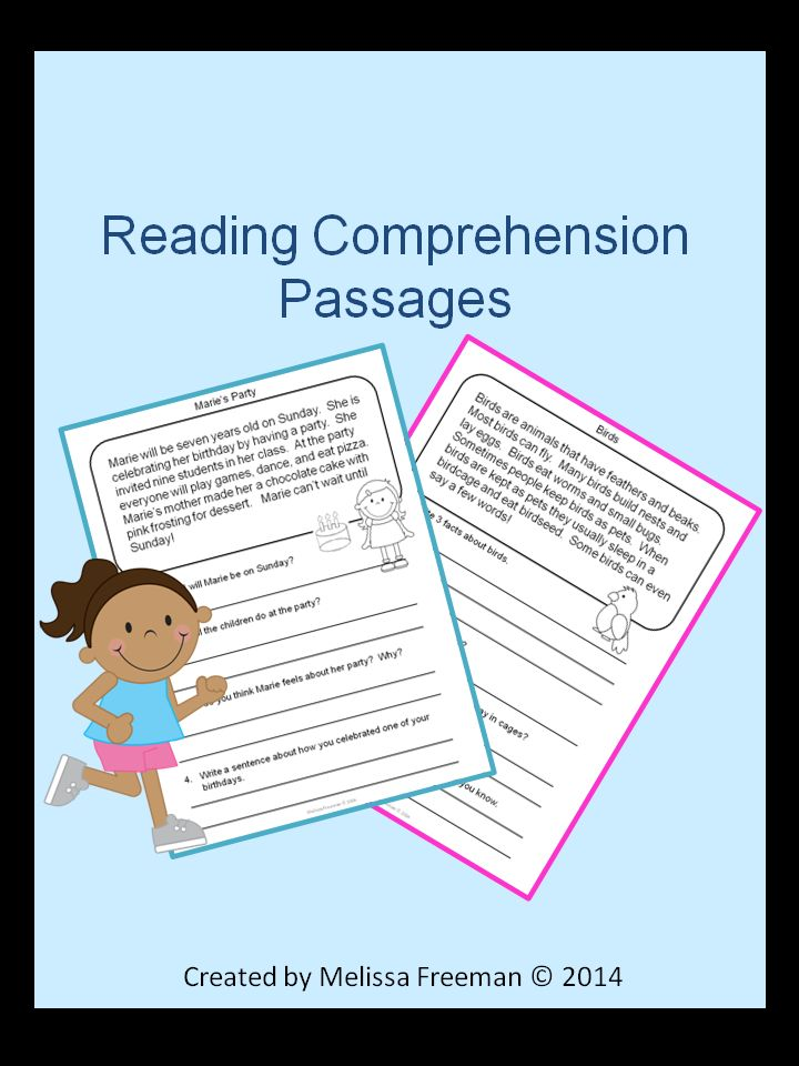 This Reading Comprehension Package contains 20 short reading passages with 4 questions each. There are 13 fiction and 7 non-fiction passages. It is aimed at a second grade level.