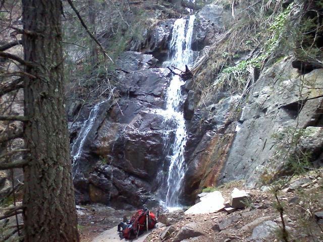 Waterfall in Ruidoso, New Mexico