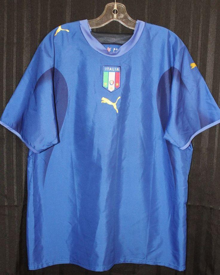Puma Italy Italia FIGC Football Soccer Futbol Adult Mens Sz XL Jersey Shirt    eBay