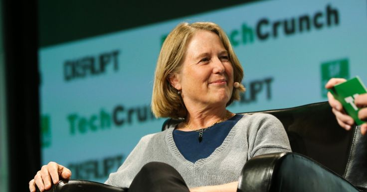 Google's Diane Greene talks AWS and machine learning at TechCrunch Disrupt  |  TechCrunch