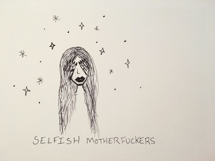 Selfish by B. Wosk