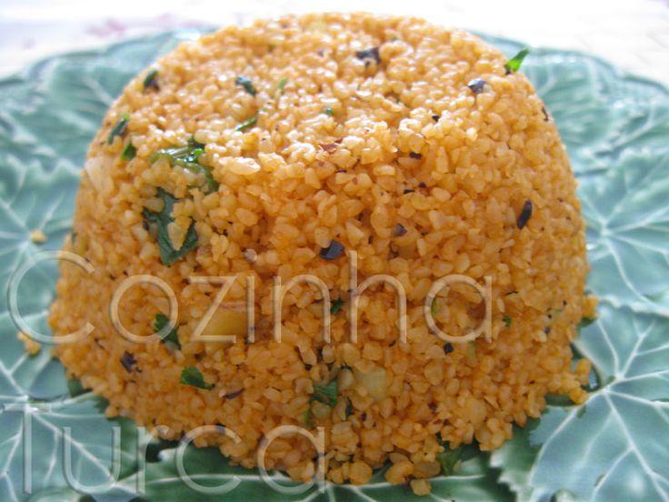 Cocinar Bulgur | Salada De Bulgur Com Nozes E Pimenta Isot Isotlu Kisir Cozinha