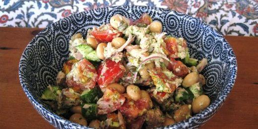 Butter Bean and Kumara Salad