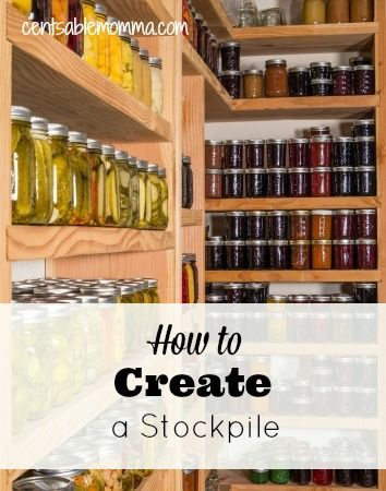 """One of the tools that I use to save money on groceries and household goods is to create a stockpile. Basically, I purchase non-perishable items when they are at rock bottom prices even if I don't necessarily need them at that very moment and store them in my """"pantry"""". Then, when I am making my …"""