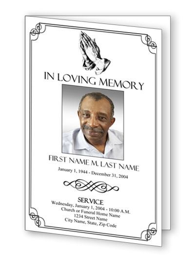 10 best Funeral Programs images on Pinterest Program template - death announcement templates