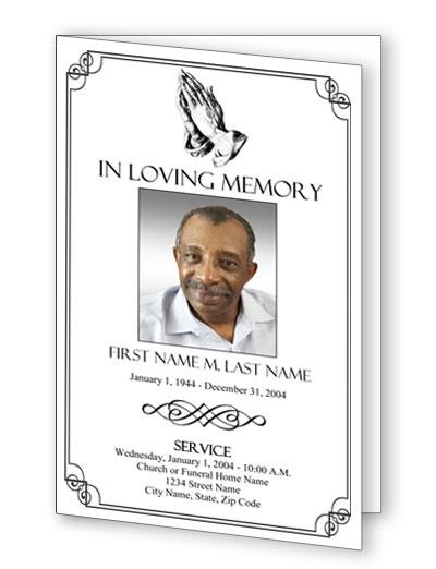 8 bästa bilderna om obituary templates på pinterest | texter, barn, Powerpoint templates