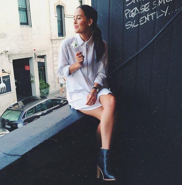 Frost shirt dress