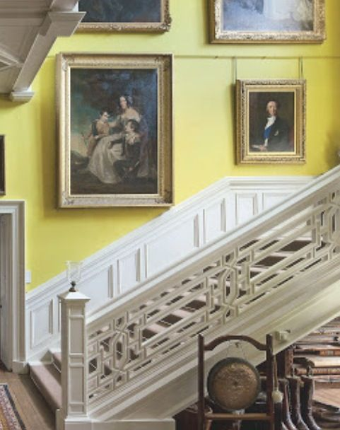 Yellow Boots And Gong Lovely Hall Scottish Country House · Country House  InteriorCountry HousesHouse ...