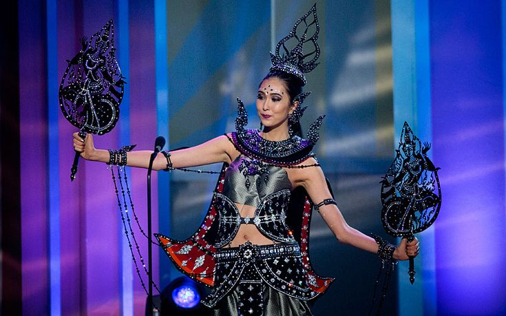 Miss Thailand - National costume show during the 63rd annual Miss Universe Competition in Miami