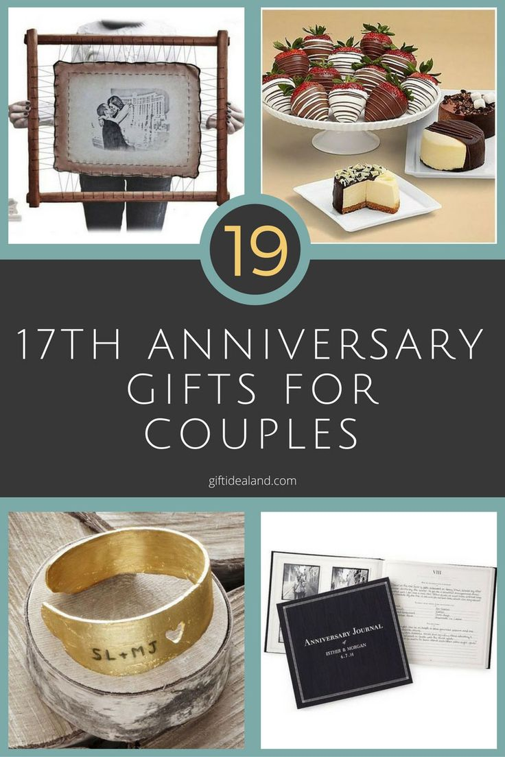 42 Good 17th Wedding Anniversary Gift Ideas For Him Amp Her