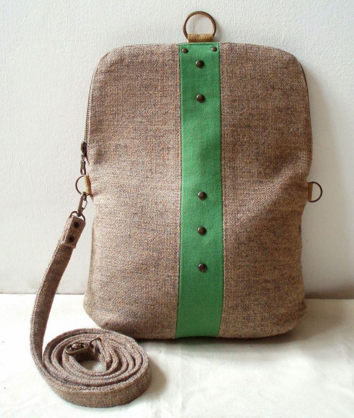 Выкройки и идеи простых сумок и рюкзаков / Сумки, клатчи, чемоданы / ВТОРАЯ УЛИЦА