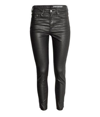 Skinny High Ankle Jeans | Black | Ladies | H&M RS