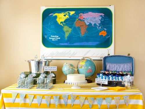 Airplane theme party - love this idea even for adults