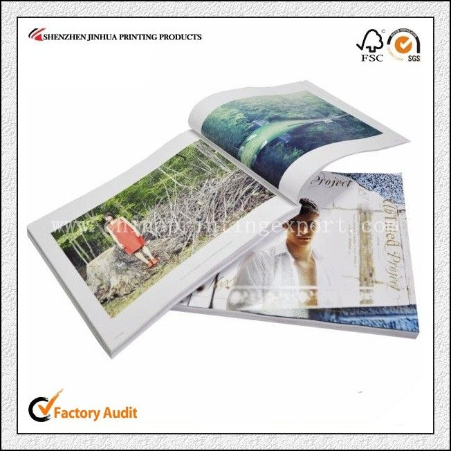 Fashion Softcover Book Printing For All Over The World With High Quality