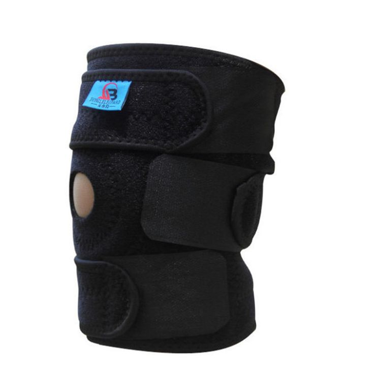 Adjustable Patella Knee Support Elastic Neoprene Knee Brace Basketball Sports Knee Pad Safety Guard Strap 1 piece