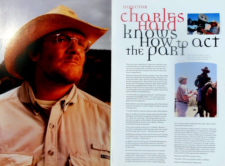Profile of director, producer, actor Charles Haid.
