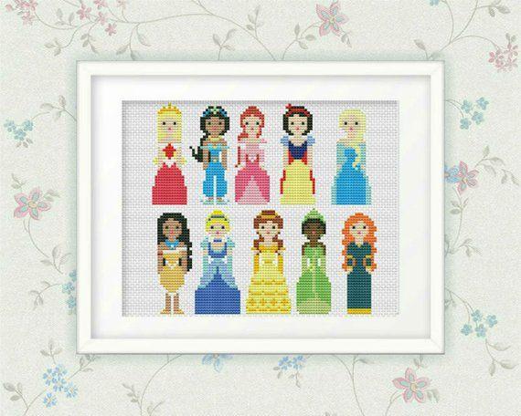 Cross Stitch Pattern Disney Heroes #22 PDF Files.