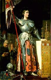 Joan of Arc, Also called Jeanne d'Arc and Jeanne la Pucelle, b. in France 6 Jan 1412, burned at the stake in the St. Rouen churchyard on May 30, 1431.