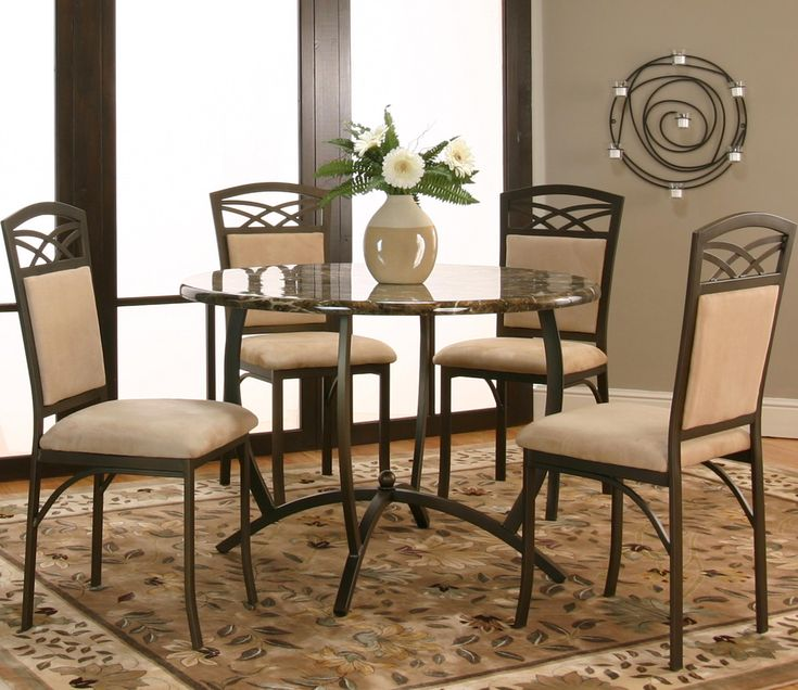 Atlas 5 Piece Dining Set By Cramco, Inc Available At RoyalFurniture.com