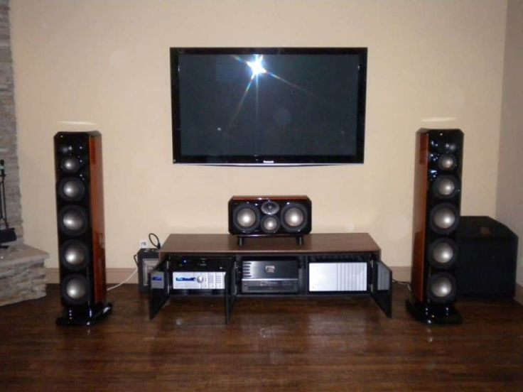 Modern Wireless Home Theater System