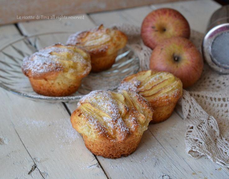 Muffin mele e ricotta