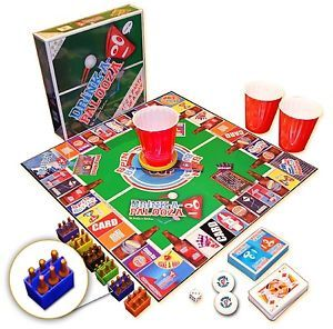 Monopoly Drinking Games Board Game Gathering Camping Beer Pong Balls Cards Dice $69.99  #Monopoly #Drinking #Games #Board #Game #Gathering #Camping #Beer #Pong #Balls #Cards #Dice