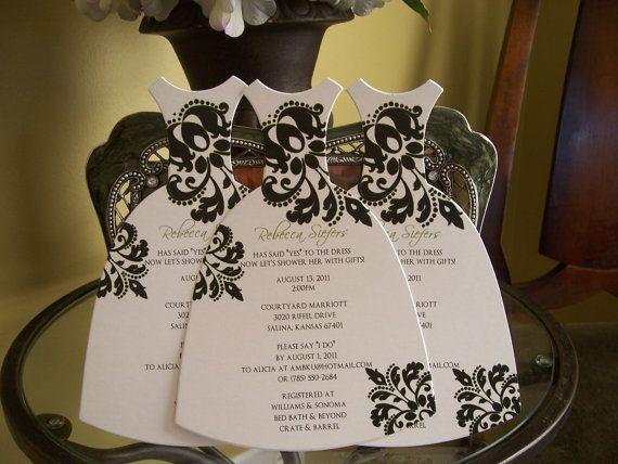 bridal shower invites....