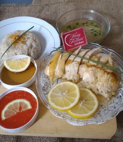 Hainan Chicken ala-ala