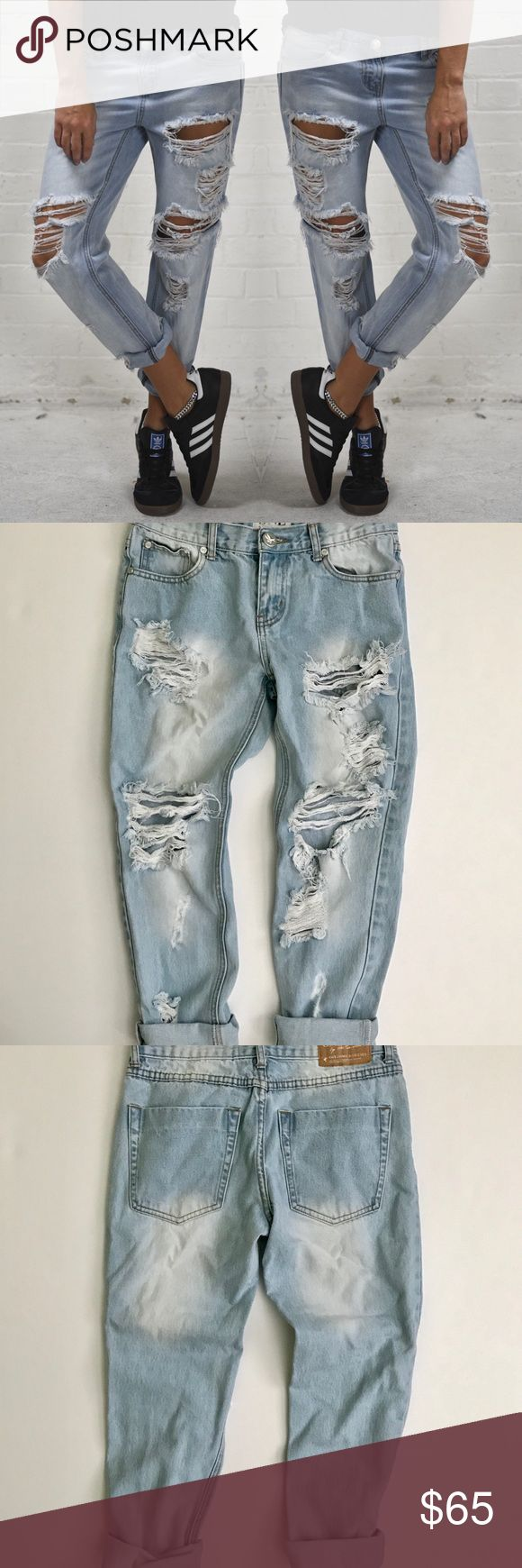 One Teaspoon Wilde Awesome Baggies 24 One Teaspoon Awesome Baggies  Boyfriend jeans   - Size 24 - Color : Wilde   - great condition    Gypsy Warrior , dolls kill , Nasty Gal , Asos , Pacsun , Urban Outfitters , Forever 21 , Free People , LF , shop bop , revolve clothing , Nordstrom , one teaspoon , planet blue , vintage , unif , karmaloop , grunge  , boho , bohemian , anthropologie , Zara , miss guided , boohoo , denim , jeans , distressed jeans , boyfriend jeans , Levi's  (stores for views)…