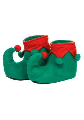 Finish your kids elf costume with these exclusive child Christmas elf shoes! They look straight from the north pole.