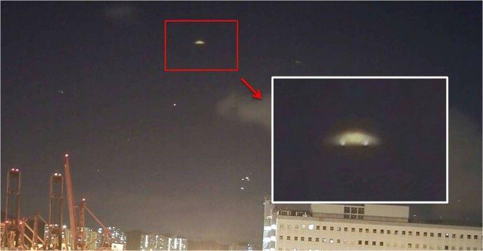 UFO Sighting Over Hong Kong, China!