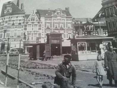 Kiosk van Coothplein Breda