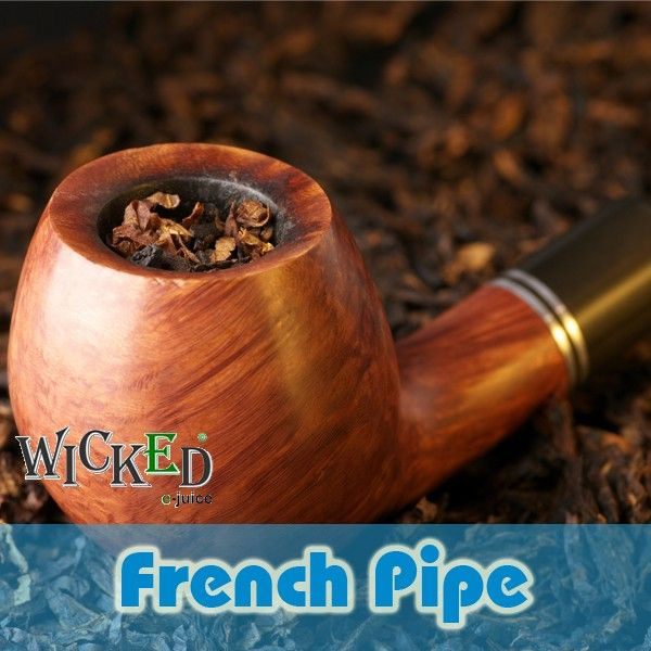 """French Pipe: French Pipe Blend. A full day vaping flavor. Get 10% off your first order across all products when you buy online at http://www.healthiersmoker.ie please use discount code: """"pinterest"""" at the checkout!"""