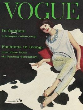 March 1961: Pennies Noel, Garlands Covers, British Vogue, Vogue Magazines, Baileys Models, 1961 British, Magazines Covers, Vogue Covers, Vintage Vogue