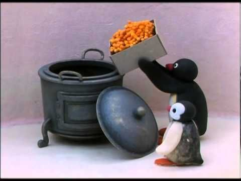 ▶ Pingu As A Chef - Pingu Official Channel - YouTube, Stop-Motion Claymation