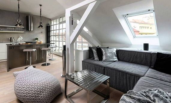 Ber ideen zu dachgeschosswohnung auf pinterest for Dachgeschosswohnung dekorieren