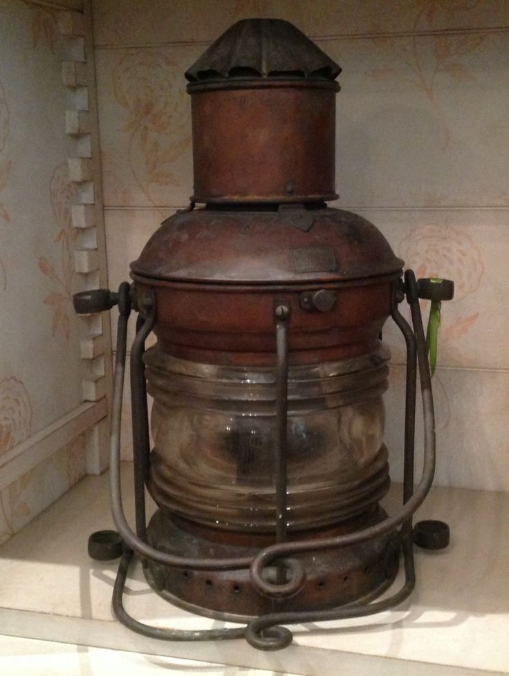 bronze kitchen chandelier common paint colors french copper ship's lantern $465 closing sale | old ...