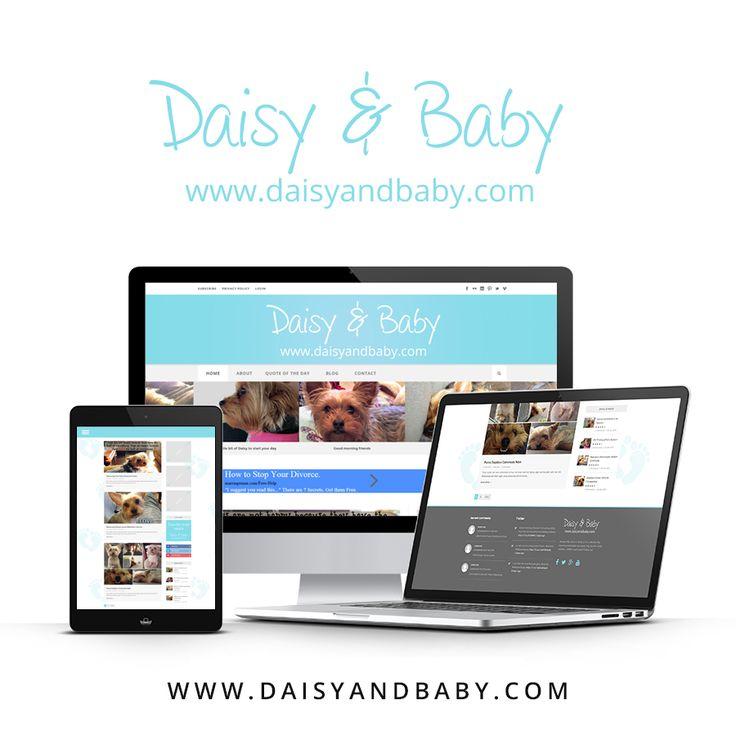 New website now live! www.daisyandbaby.com #WebDevelopment #LondonOntario #BrydgesDesign
