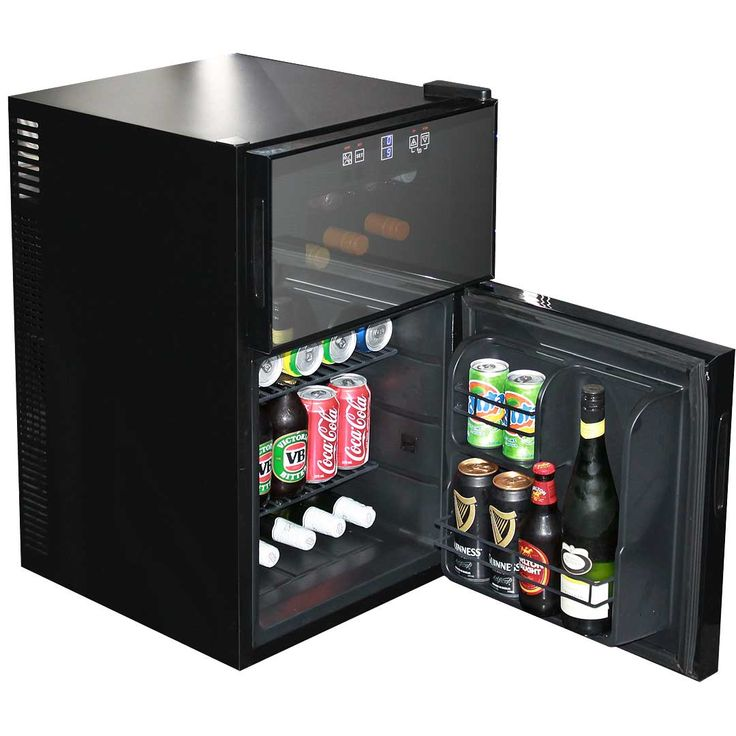 Mini Beer And Wine Fridge Model BCWH69 room