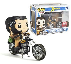 FUNKO Pop! Marvel Collector Corps Exclusive: Wolverine's Motorcycle #26 (X-Men - December 2016)