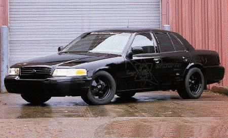 Propane V-10 Ford Crown Victoria Police Interceptor - Specialty File
